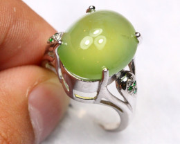 32.06cts 925 Sterling Silver Ring /R77