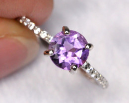 6.80cts 925 Sterling Silver Ring /ZA373
