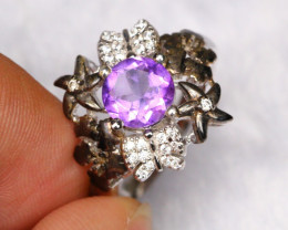 20.47cts 925 Sterling Silver Ring /5