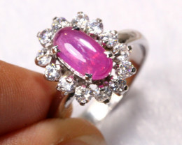 21.00cts 925 Sterling Silver Ring /R84