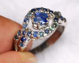 16.20cts 925 Sterling Silver Ring /R86