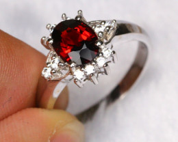 13.90cts 925 Sterling Silver Ring /ZA348