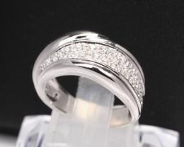 Diamond Ring 18Kt Gold F/VS Natural Diamond Ring D37