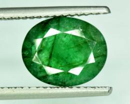 5.10 * Carats Natural Oval Cut Zambian Emerald Gemstone