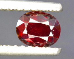 1.65 Carats Rare Blood Red Color Natural Oval Cut Tantalite Gemstone