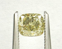 1.01ct Natural Fancy Light Yellow Diamond IGI certified