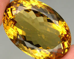 34.72 ct. 100%  Natural Unheated Top Yellow Golden Citrine Brazil