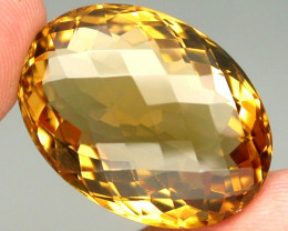 31.81 ct. 100% Natural Unheated Yellow Golden Citrine