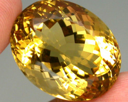 Clean Precious! 24.17ct. 100% Natural Unheated Top Yellow Golden Citrine Br