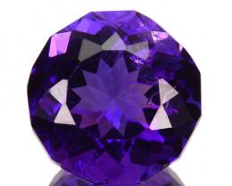 ~FABULOUS~ 3.68 Cts Natural AAA Purple Amethyst Fancy Cut Bolivia