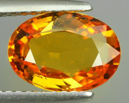 CERTIFIED~2.40 CTS ALLURING EXTREME FIRE HOT YELLOWISH ORANGE SAPPHIRE!$760