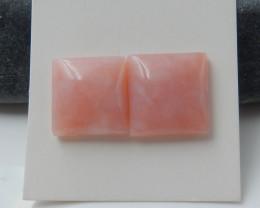 18.5cts Pink Opal Jasper Cabochons ,Natural Gemstone ,Customized Jewelry B7