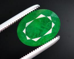 Top Grade 2.65 Ct Natural Zambian Emerald