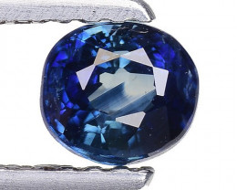 0.63 Crt Natural Blue Sapphire Good Quality Faceted Gemstone. BS 27