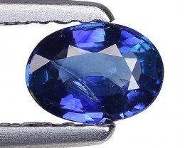 0.51 Crt Natural Blue Sapphire Good Quality Faceted Gemstone. BS 34