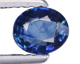 0.49 Crt Natural Blue Sapphire Good Quality Faceted Gemstone. BS 35