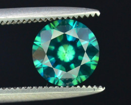 AIG~Cert~1.02 ct Natural Diamond Ocean Green~$6000.00