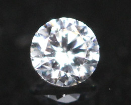 2.20mm D-F Color VS Natural Loose White Diamond