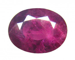 AIG Certified Natural Ruby - 3.06 ct