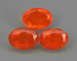 1.65 CTS BEST QUALITY~TOP COLOR EXTREME WONDER LUSTROUS GENUINE FIRE OPAL!