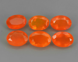 2.55 CTS BEST QUALITY~TOP COLOR EXTREME WONDER LUSTROUS GENUINE FIRE OPAL!