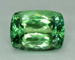 NR - 36.95 cts Lush Green Spodumene