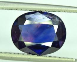 6.10 Carats Oval Cut AAA Grade Natural Rare Kashmir Corundum Sapphire Gemst