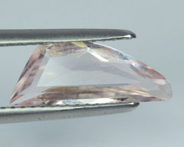 Natural Light Pink Morganite Fancy Cut Brazil 1.53 Cts