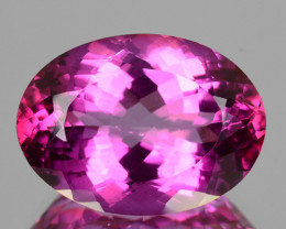 Candy Pink Natural Topaz 18x13 mm Oval Cut Brazil 15.07 Cts