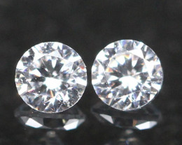1.70mm D/F Color VS Natural Round Brilliant Cut White Diamond