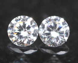 1.80mm D/F Color VS Natural Round Brilliant Cut White Diamond