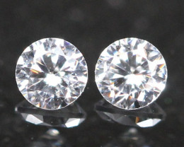 2.00mm G/H Color VS Natural Loose White Diamond