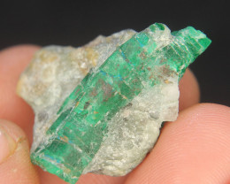 Natural Green SWAT emerald Specimen From Pakistan