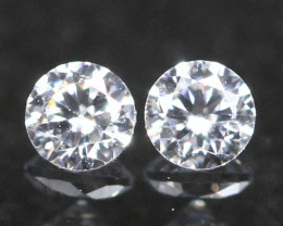 2.70mm G/H Color VVS Natural Loose White Diamond