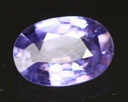 Sapphire 1.07Ct Unheated VS Madagascar Purplish Blue Sapphire S59