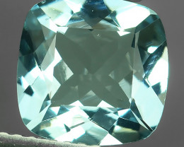 2.20 CTS-EXQUISITE NATURAL UNHEATED CUSHION-CUT BLUE -AQUAMARINE~BEAUTY!!