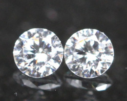 2.00mm G/H Color VVS Natural Loose White Diamond