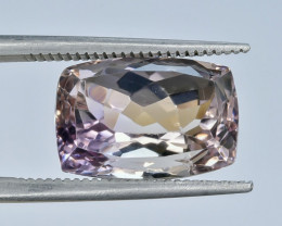 7.01 Crt Natural Ametrine Faceted Gemstone.( AG 18)