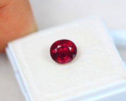 2.42ct Rhodolite Garnet Oval Cut Lot V4884