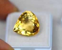 17.03ct Yellow Citrine Pear Cut Lot V3627
