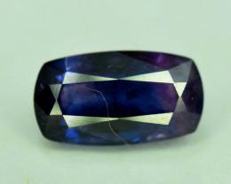 1.65 Carats Radiant Cut AAA Grade Natural Rare Kashmir Corundum Sapphire Ge
