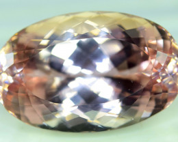 70 cts Peach Pink Kunzite Gemstone