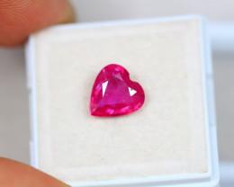 2.65ct Pink Ruby Heart Cut Lot GW3632
