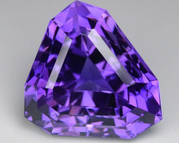 18.33 CT NATURAL AMETHYST TOP CLASS CUT GEMSTONE AM23