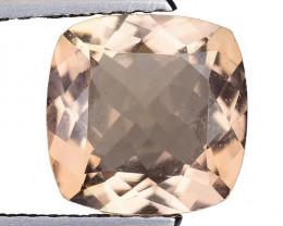 1.66 Ct Natural Morganite Stunning Luster Gemstone.  M 01