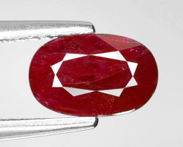 1.92 CT RED RUBY BEST COLOR GEMSTONE RB46