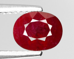 1.47 CT RED RUBY BEST COLOR GEMSTONE RB48