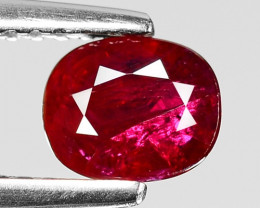 0.85 CT RED RUBY BEST COLOR GEMSTONE RB57