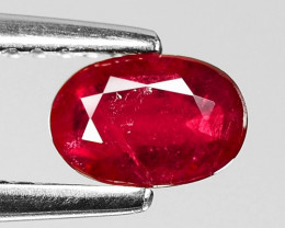 0.56 CT RED RUBY BEST COLOR GEMSTONE RB58