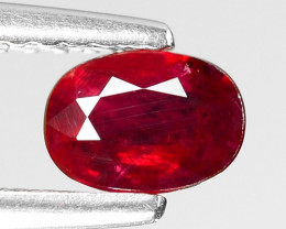 0.53 CT RED RUBY BEST COLOR GEMSTONE RB66